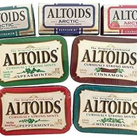 Altoids Curiously Strong Mints & Curiously Cool Mints Variety Bundle - 7 Count