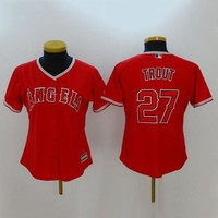 DCCKUH3 Women's MLB  Buttons Baseball Jersey  HY-17N11Y35D