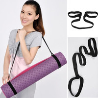 New Yoga Mat Sling Carrier Shoulder Carry Strap Belt Cotton Canvas Yoga Gym Tool = 1933203652