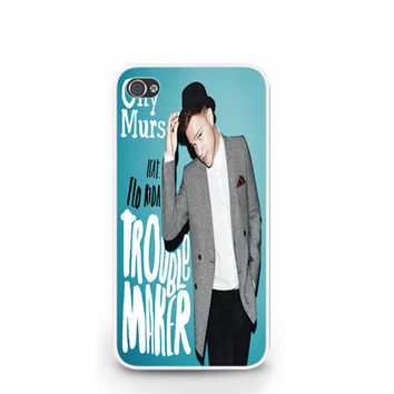 Olly Murs Troublemaker White iPhone 4 4S / iPhone 5 Hard Case Cover