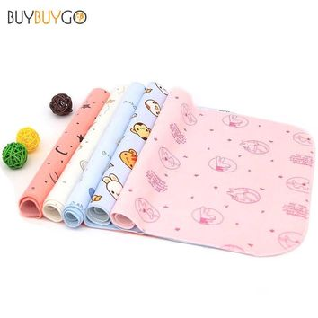 2017 Limited S Hot Sale Baby Changing Pads Covers Toddler Nappy Waterproof Washable Cotton Cloth Diaper Mat Pad For Care