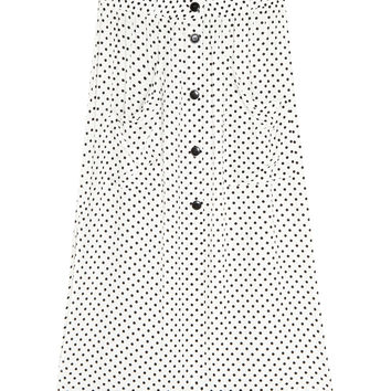 Polka dot midi skirt - Skirts - Clothing - Woman - PULL&BEAR United Kingdom