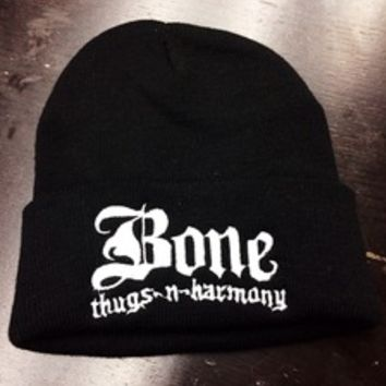 The Life — Bone Thugs Black Beanie