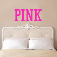 PINK Victoria's Secret Inspired Vinyl Wall Decal