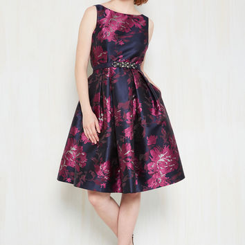 Perchance to Gleam Fit and Flare Dress | Mod Retro Vintage Dresses | ModCloth.com