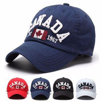 Canada Flag Unisex Men Women Snapback Adjustable Baseball Cap Hip Hop Hat Hot!