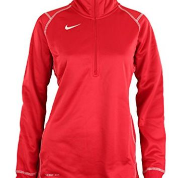 Nike Women's Quarter Zip Therma-FIT Performance Sweatshirt, Color Options