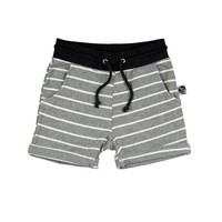 Striped Shorts - Rolled Hem