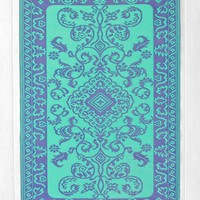 Floral Indoor/Outdoor Rug - Urban Outfitters