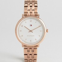 Tommy Hilfiger 1781760 Rose Gold Pippa Watch at asos.com