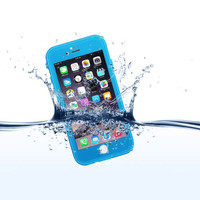 Case For iPhone 6 6s 100% Sealed Waterproof Protective Cover Slim Luxury Life Dirt Proof Shockproof Diving Silicone Outdoor Bag