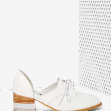 Jeffrey Campbell Radwell Cutout Leather Oxford