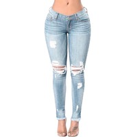 Big Booti Knee Ripped Jeans