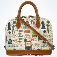 Disney Parks Dooney & Bourke Star Wars The Force Awakens Zip Satchel New