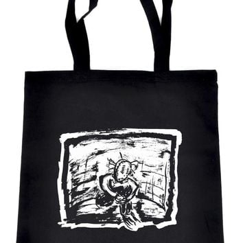Sad & Lonely Tote Book Bag Occult Handbag
