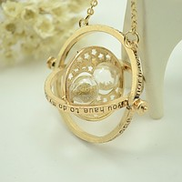 The New Harry Potter Time Converter Hourglass Necklace