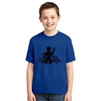 Fallout 3 Vault Boy Youth T-shirt