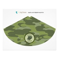 Military Army Camouflage Birthday Party Hat