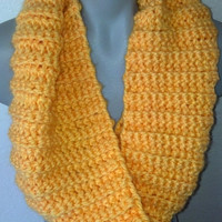 Yellow/Gold Infinity scarf