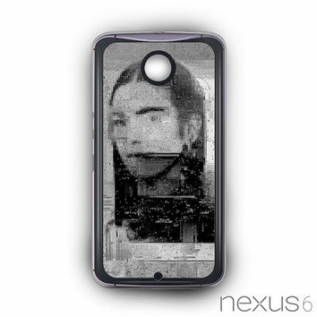 Sad girls on the painting for Nexus 6 phonecases