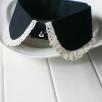 Austen Society Lace Trim Vintage Statement Collar | Sincerely Sweet Boutique