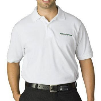 Those damn alligators polo shirts from Zazzle.com