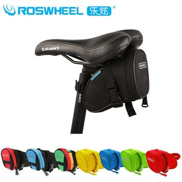 Roswheel MTB Road Bike Rear Seat Bag Bicycle Pannier Saddle Bag Bike Pouch Bicycle Sports bag 8 Colors