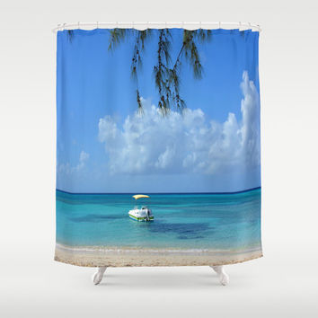 "Shower Curtain - 'Take me There' - 71"" by 74"" Home, Bathroom, Bath, Dorm, Decor, Girl, Christmas, Ocean, Exotic, Nature"