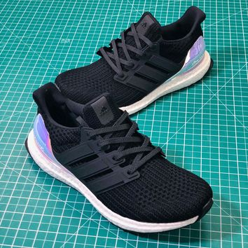 Adidas Ultra Boost Ub 4.0 Iridescent Sport Running Shoes Sale 8a40743b8