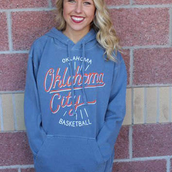 OKC power comfort colors hoodie