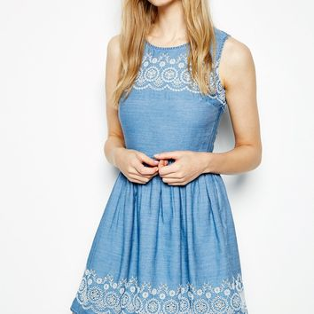 RYARSH EMBROIDERED DRESS