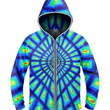 The Space Of Variations by Alex Aliume Light Up Hoodie