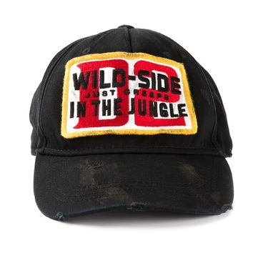 Dsquared2 'Wild Side' Tag Baseball Cap