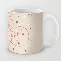 Happy New Year Mug by Irmak Berktas