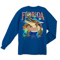 Guy Harvey Men's University Of Florida Gators Long Sleeve T-Shirt