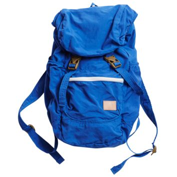 Nylon Packable Backpack - Blue