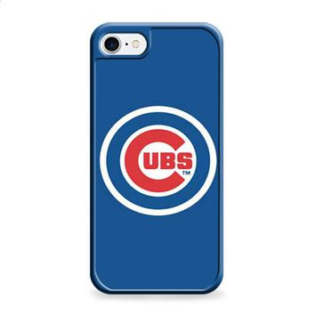 Chicago Cubs logo on blue iPhone 6 | iPhone 6S case