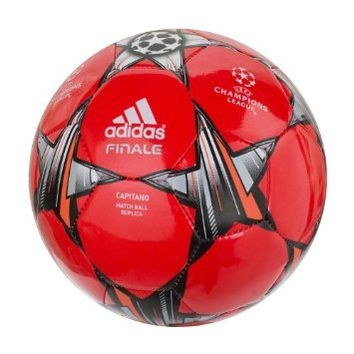 ADIDAS Finale 13 Capitano Soccer Ball Red
