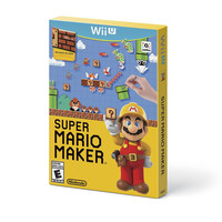 Super Mario Maker w/ Idea Book - Nintendo Wii U (New)