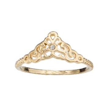 LC Lauren Conrad Filigree Ring | null