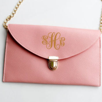 monogrammed purse,monogrammed clutch,envelope clutch, monogram clutch,monogram purse,envelope purse,bridesmaid gift,wedding gift,shower gift