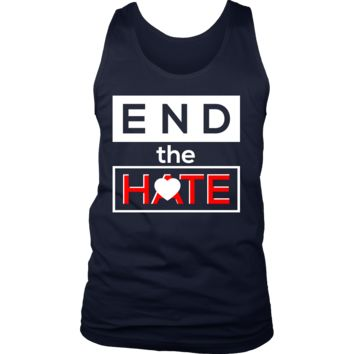 End the Hate,Awareness Bullying,Racism Tank