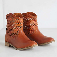 Anthropologie - Woven Trail Booties