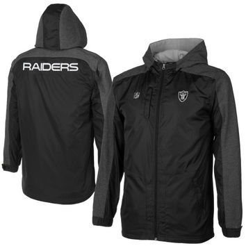 Oakland Raiders Youth Reverb Resonate Jacket – Black - http://www.shareasale.com/m-pr.cfm?merchantID=7124&userID=1042934&productID=544533659 / Oakland Raiders