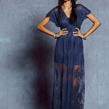 Free People Ethereal Lace Maxi