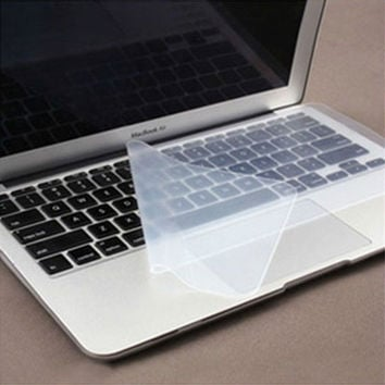 New Universal Cover Laptop Keyboard Skin Silicone Protector Good