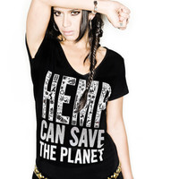 Think Substance: Hemp Can Save the Planet Hemp Tee