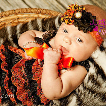 Sale Headband, Orange Black Halloween Baby Girl Headband, Thanksgiving Fall Baby Hair Band, newborn girl headbands photography props, Canada