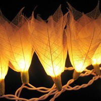 Ivory 20 Bulbs string light home decoration by panmile2005 on Etsy
