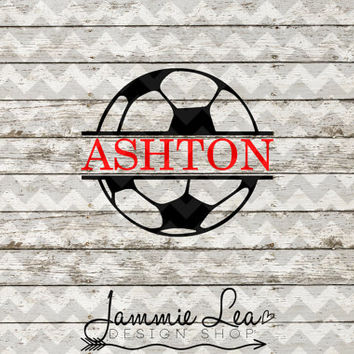 Soccer - Custom Name - You Pick Size - Vinyl Decal Sticker